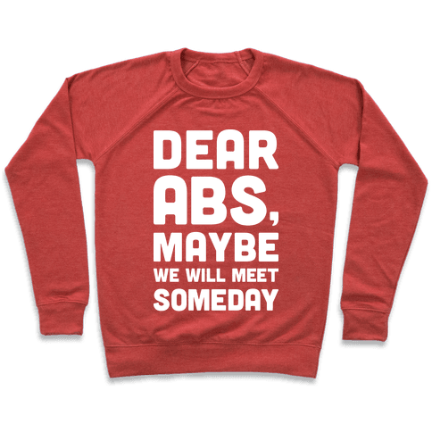 Dear Abs, Maybe We Will Meet Someday Pullover