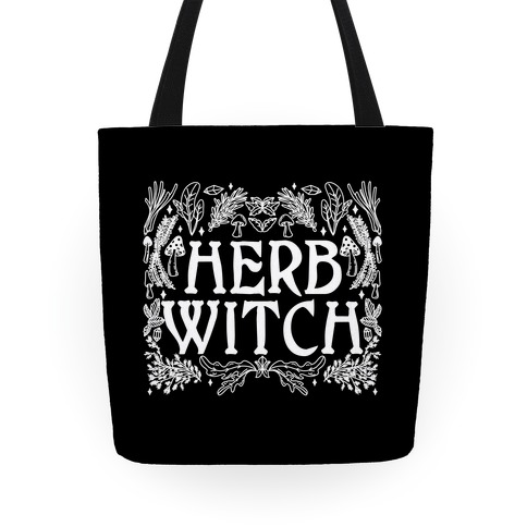 Herb Witch Tote