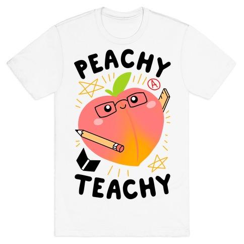 Peachy Teachy T-Shirt