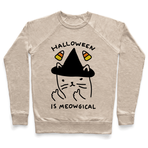 Halloween Is Meowgical Pullover