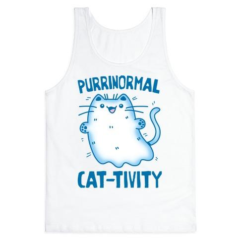 Purrinormal Cat-tivity Tank Top