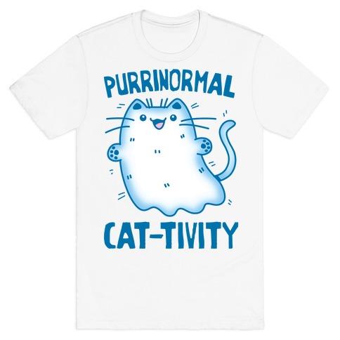 Purrinormal Cat-tivity T-Shirt