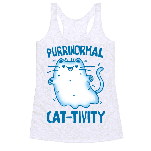 Purrinormal Cat-tivity Racerback Tank Top