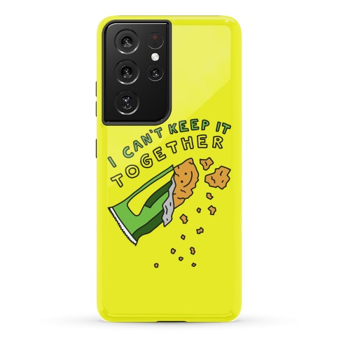 I Can't Keep It Together Granola Bar Phone Case