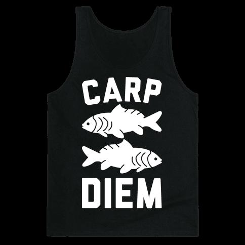 Carp Diem Tank Top