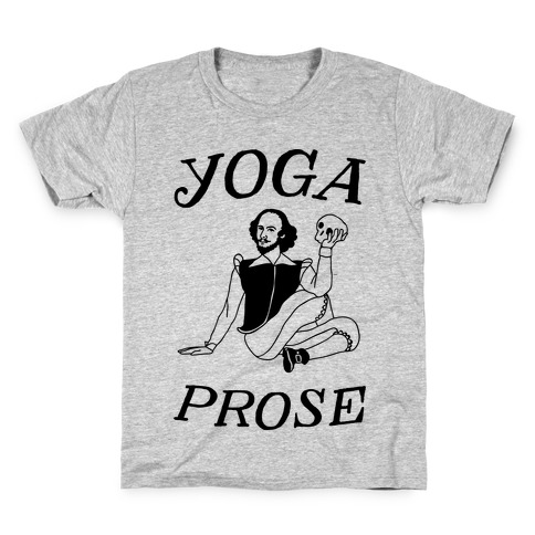 Yoga Prose Kids T-Shirt