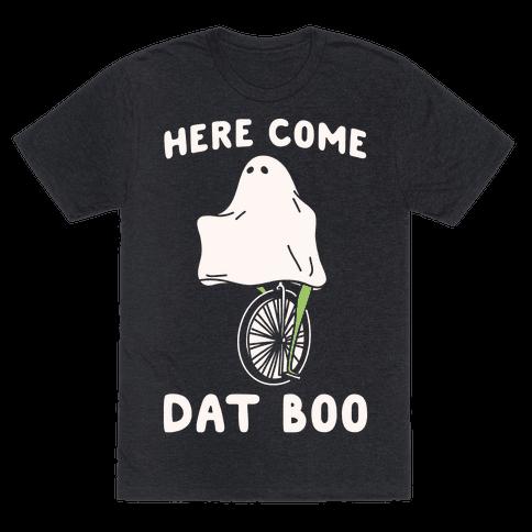 Here Come Dat Boo White Print