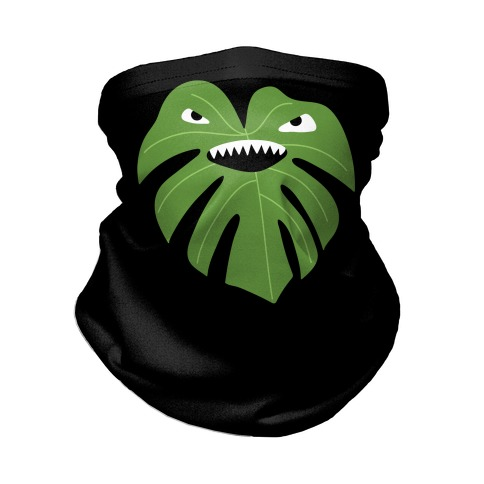 Monstera Leaf Monster Neck Gaiter