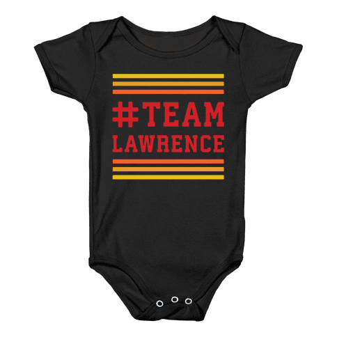Team Lawrence Baby Onesy