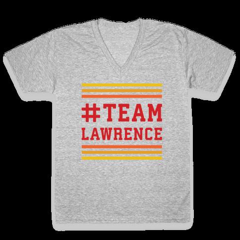 Team Lawrence V-Neck Tee Shirt