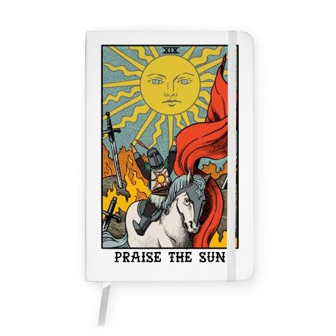Praise The Sun Tarot Card Notebook