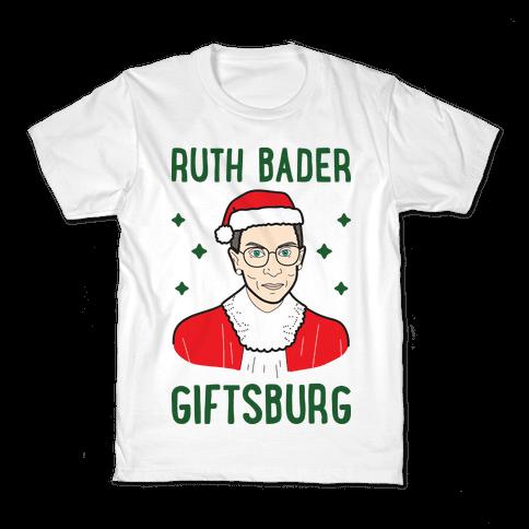 Ruth Bader Giftsburg Kids T-Shirt