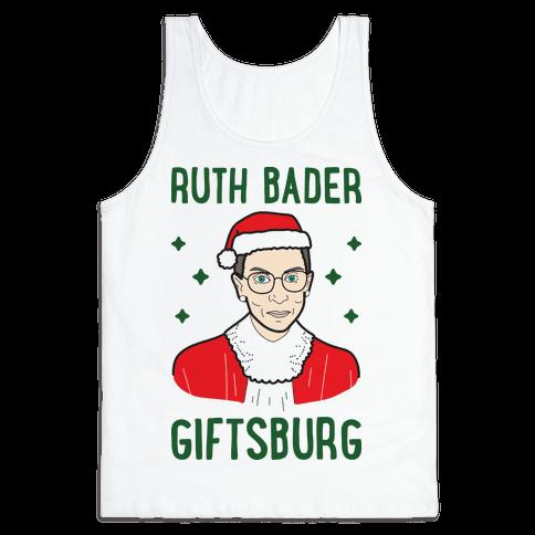 Ruth Bader Giftsburg Tank Top