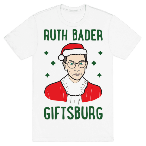 Ruth Bader Giftsburg Mens T-Shirt