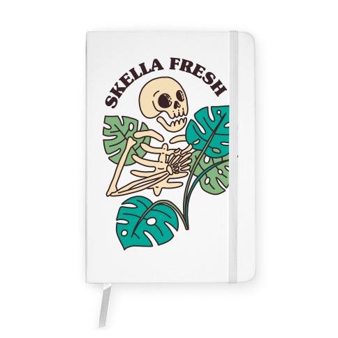 Skella Fresh Plants Notebook