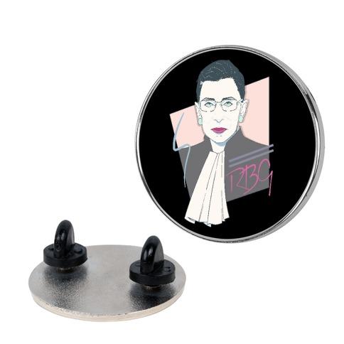 80's Ruth Bader Ginsburg Pin