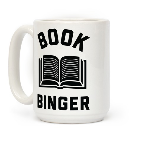 Book Binger Coffee Mug