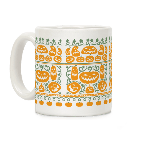 Ugly Pumpkin Sweater Coffee Mug