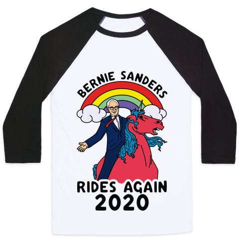 Bernie Rides Again 2020 Baseball Tee