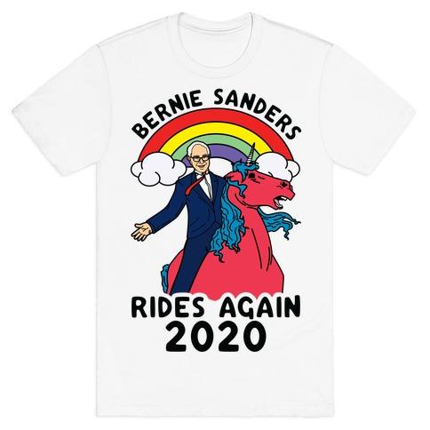 Bernie Rides Again 2020 T-Shirt