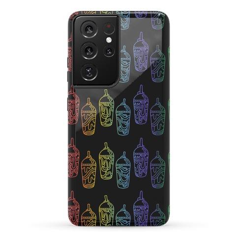 Rainbow Slushie Pattern Phone Case
