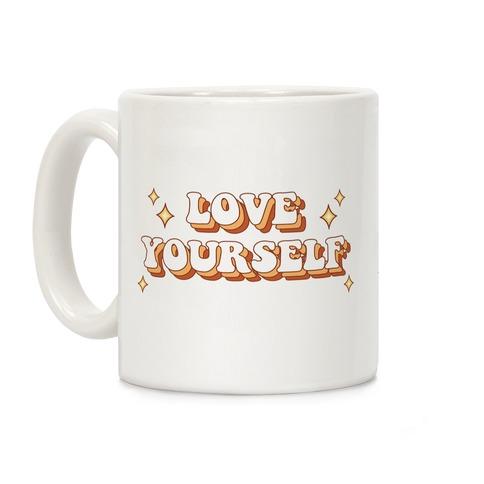 Love Yourself (groovy) Coffee Mug