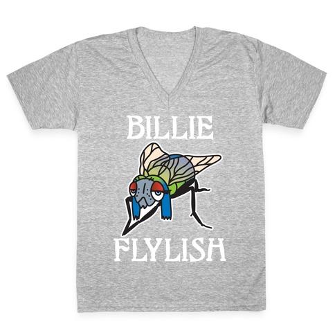 Billie Flylish V-Neck Tee Shirt