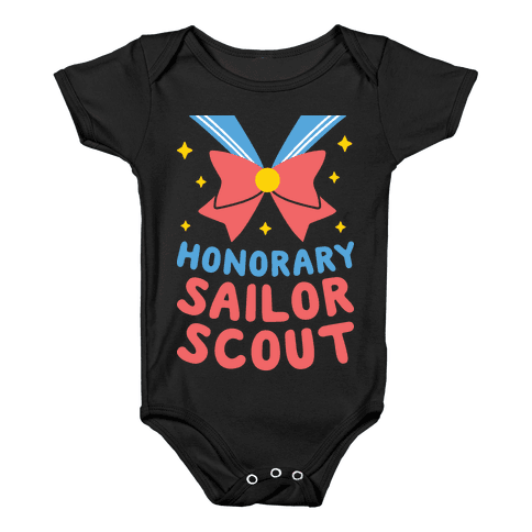 Honorary Sailor Scout Baby Onesy