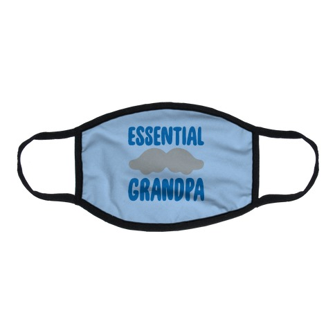 Essential Grandpa Flat Face Mask