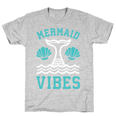 Mermaid Vibes Mens T-Shirt