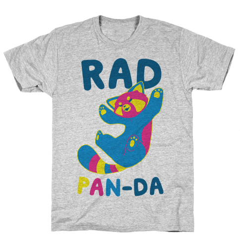 Rad Pan-da Mens T-Shirt