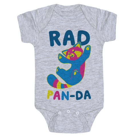 Rad Pan-da Baby Onesy