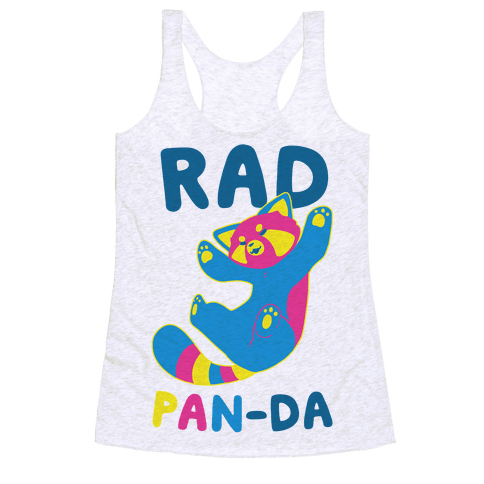 Rad Pan-da Racerback Tank Top