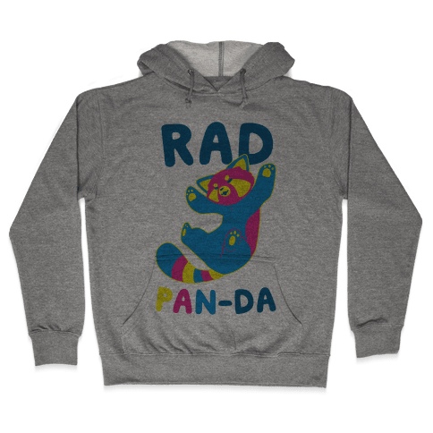 Rad Pan-da Hooded Sweatshirt