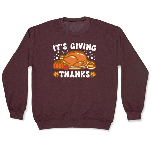 It's Giving Thanks Pullover