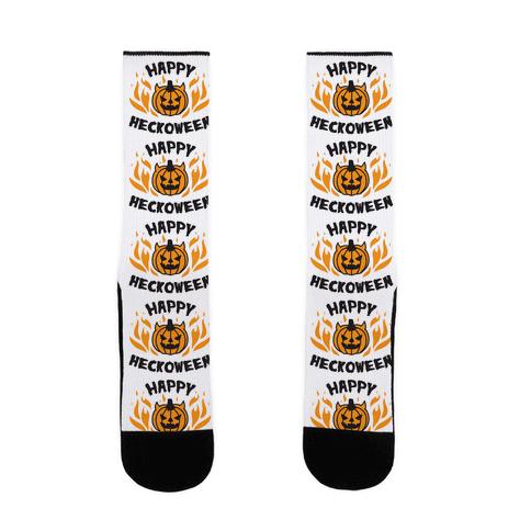 Happy Heckoween Sock