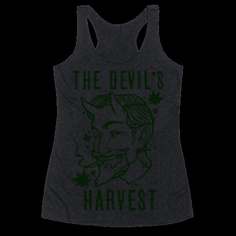 The Devil's Harvest Racerback Tank Top