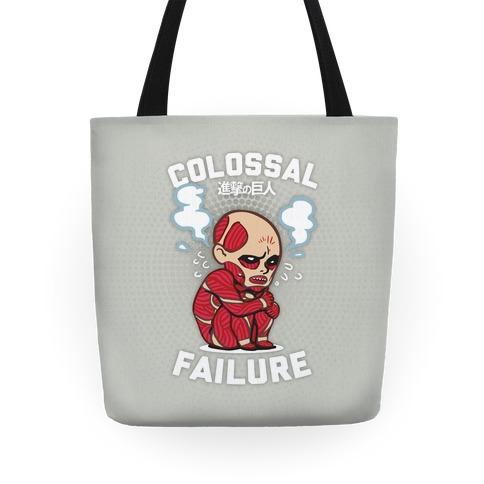 Colossal Failure Parody Tote