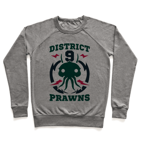District 9 Prawns (Sports Logo Parody) Pullover