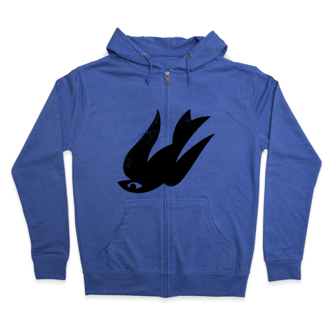 The Bird (Vintage) Zip Hoodie