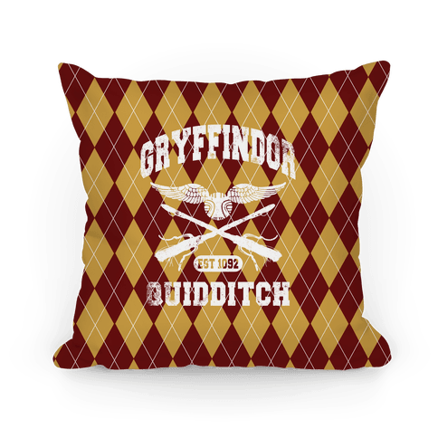 Gryffindor Quidditch Pillow