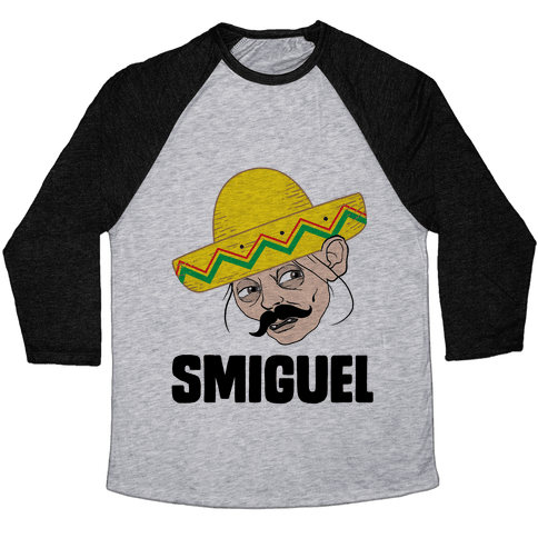 Smiguel Baseball Tee