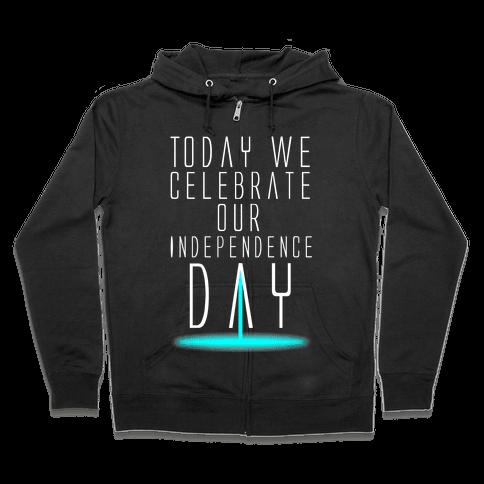 Independence Day Zip Hoodie
