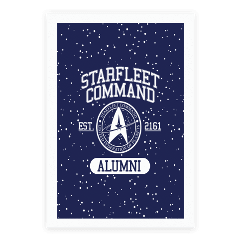 Star Fleet Alumni Poster