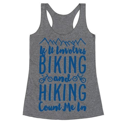Biking and Hiking Racerback Tank Top