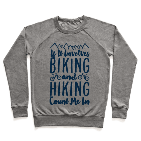 Biking and Hiking Pullover