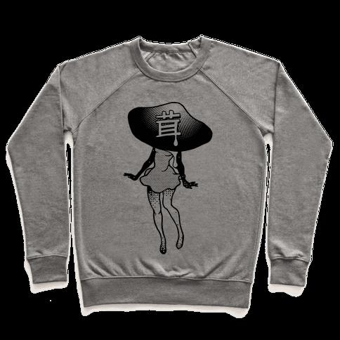 Mushroom Girl Pullover