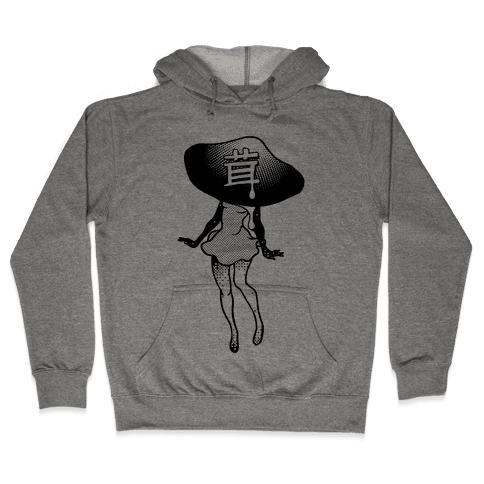 Mushroom Girl Hooded Sweatshirt