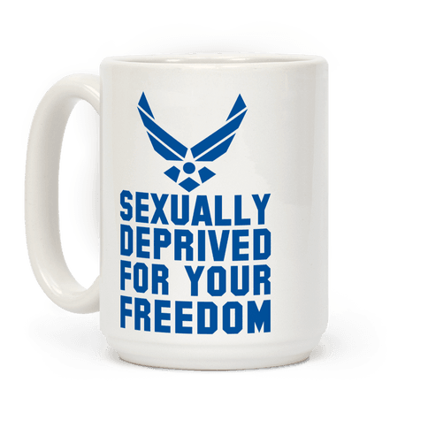 Sexually Deprived For Your Freedom (Air Force)
