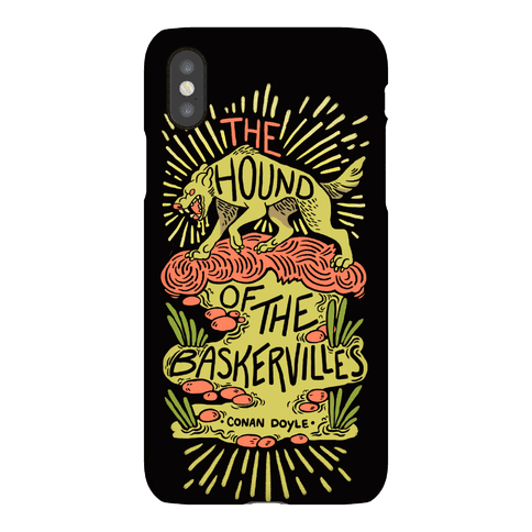 The Hound Of The Baskervilles Phone Case